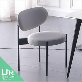 北歐工業風圖爾寬布質餐椅(21X/492-2)
