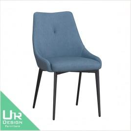 北歐工業風坎城皮質餐椅(21X/513-7)