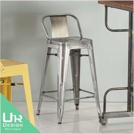 復古工業風本鐵色高吧椅(21JX/510-13)