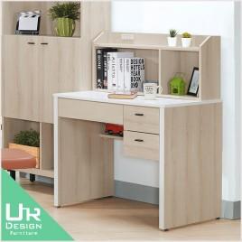 簡約北歐風維爾拉3尺書桌(整組)(21JX/522-3)