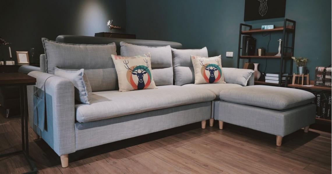 瑪琪L型沙發